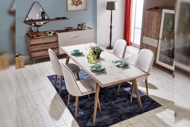 Aldora Mobilya Bergamo Yemek Odası