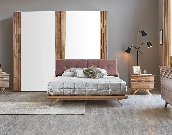 Kelebek Mobilya Melotis Yatak Odası