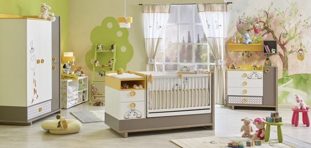 Newjoy Mobilya Zuzo Bebek Odası