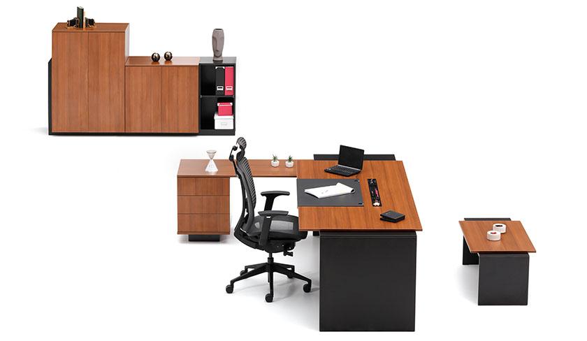 Bürotime Mobilya Pure Yönetici Odası