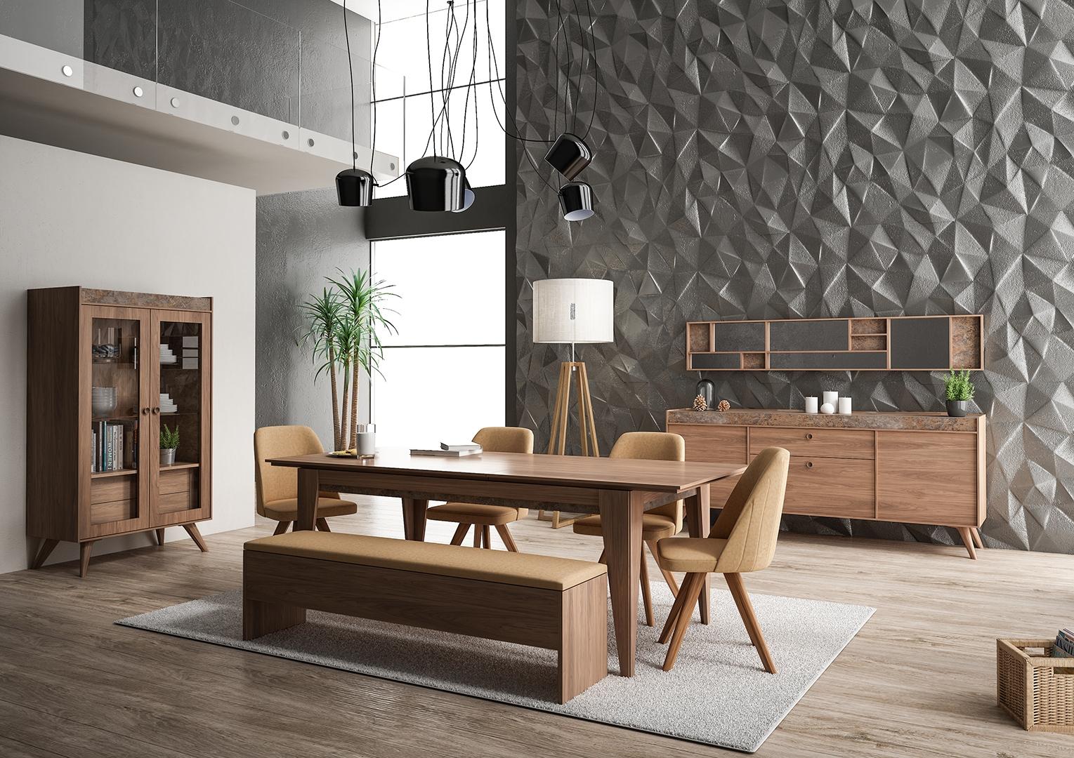 Cardin Concept Mobilya Alea Yemek Odası