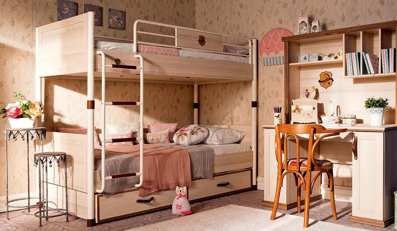 Çilek Mobilya Royal Ranzalı Genç Odası