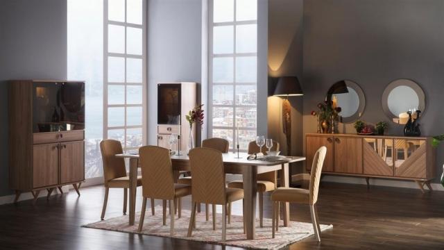 Mondi Mobilya Luna Yemek Odası