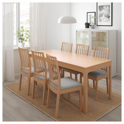 İkea Açılabilir Mutfak Masa Sandalye Takımı