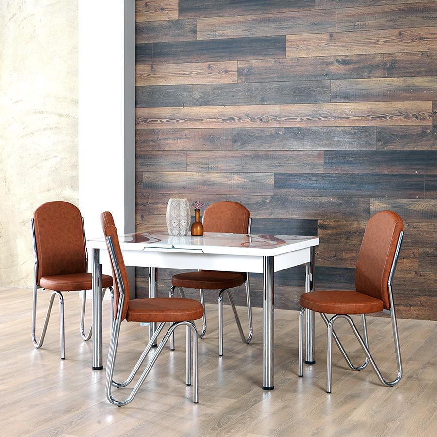 Koçtaş Açılır Mutfak Masa Sandalye Takımı