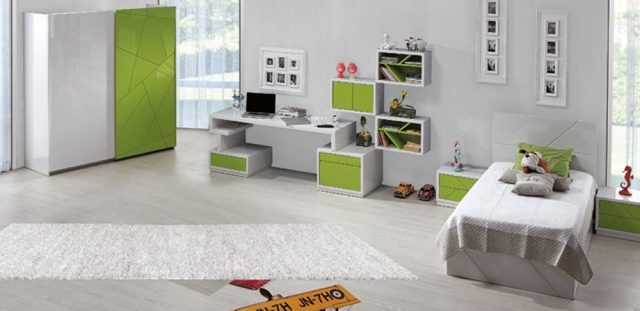 Zebrano Mobilya Emerald Genç Odası