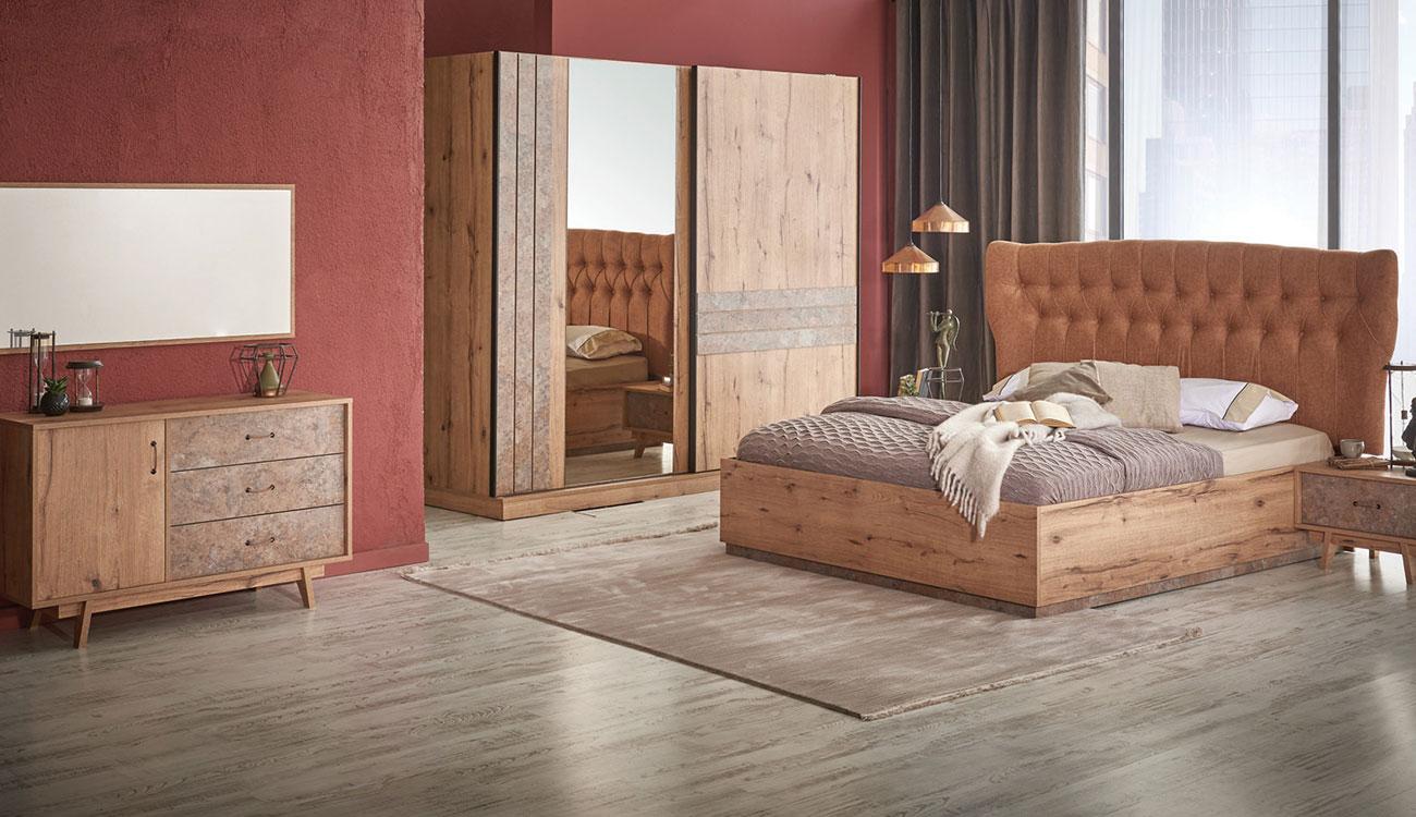 Abc Mobilya Pierro Yatak Odası