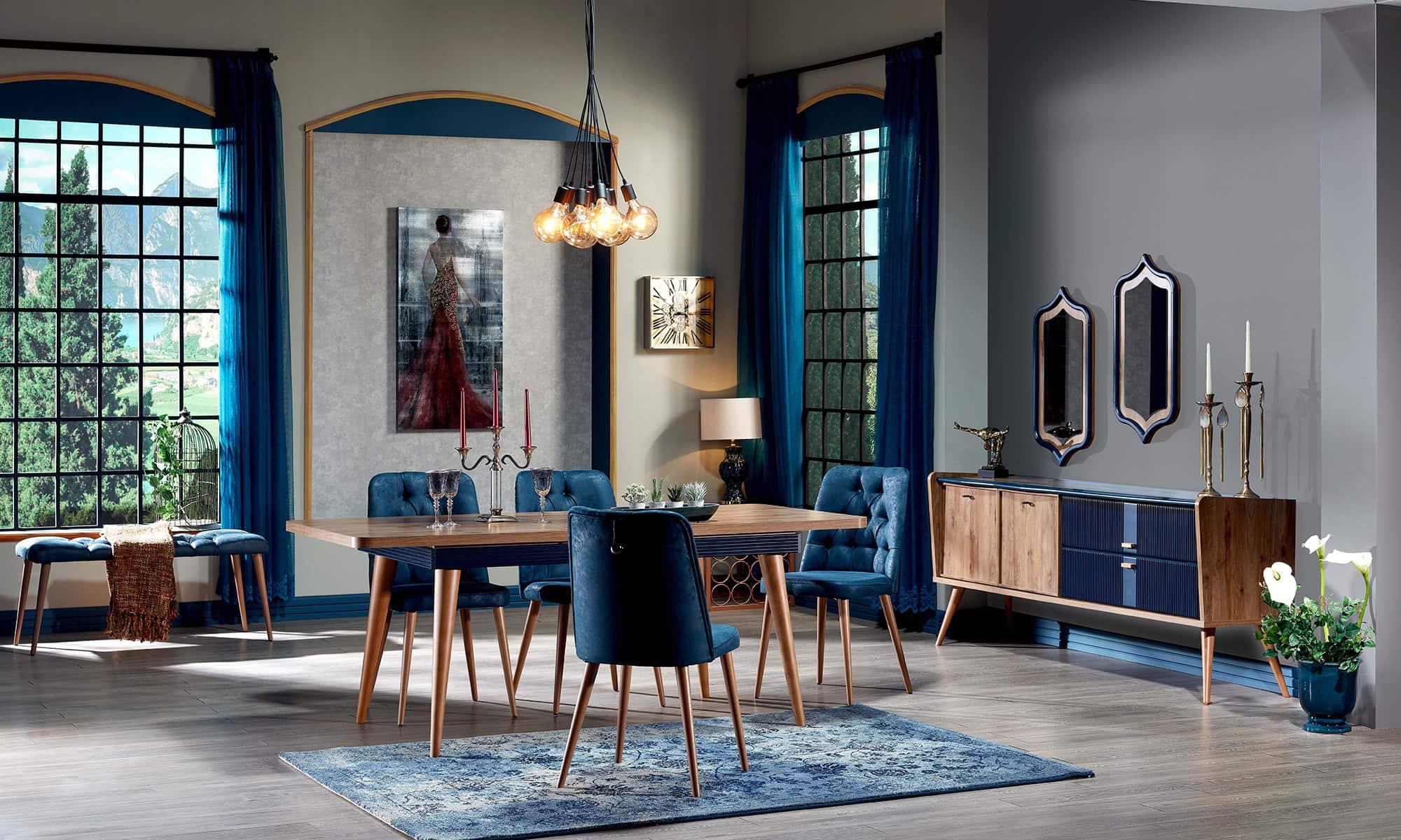 Ergül Mobilya Mabolla Yemek Odası