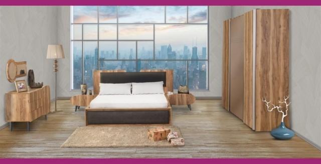 Rapsodi Mobilya Regal Yatak Odası