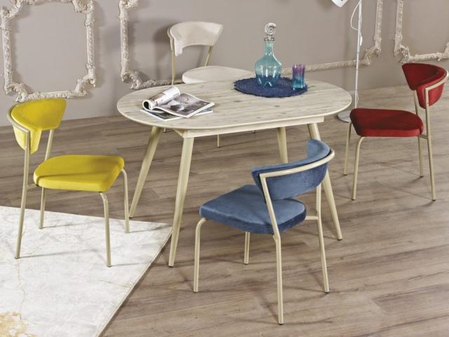 Çetmen Mobilya Nordika Mutfak Masa Sandalye Takımı