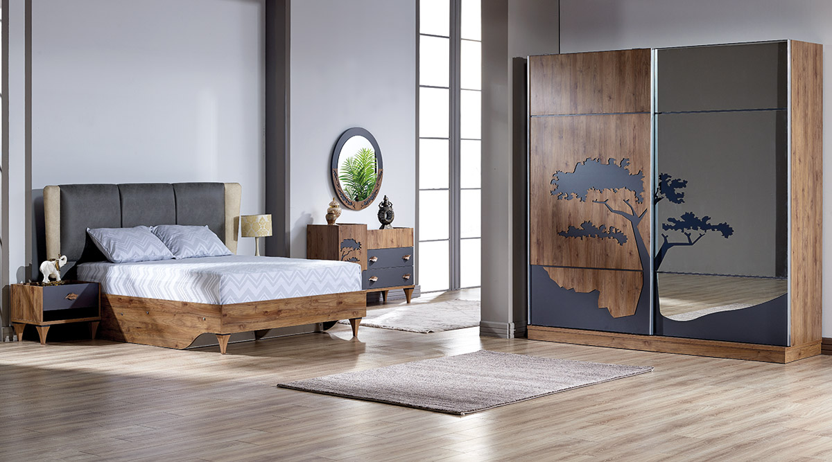 Ladin Mobilya Çınar Yatak Odası