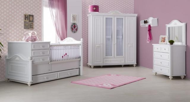 Gencecix Mobilya Bella Bebek Odası Takımı
