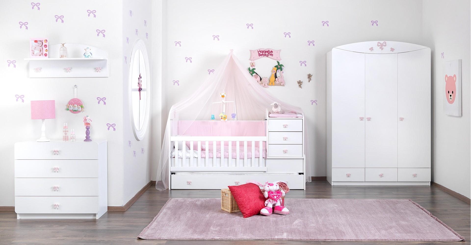 Çetmen Mobilya Lili Bebek Odası Takımı