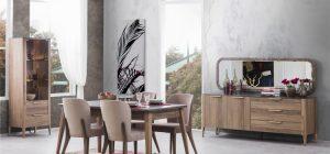 Gala Mobilya Almina Yemek Odası