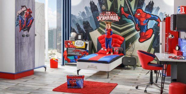 Kids & Teens Mobilya Spiderman Çocuk Odası