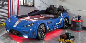 Çilek Mobilya Arabalı Yatak