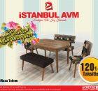 İstanbul Avm Mutfak Masası Modelleri