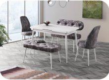 Esme Avm Banklı Mutfak Masa Sandalye Takımı