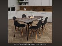 Tekzen Mutfak Masa Sandalye Seti Modelleri